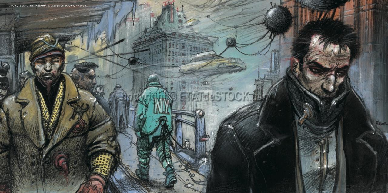 Enki Bilal Little Bangkok Affiche  U00e9dition D U0026 39 Art