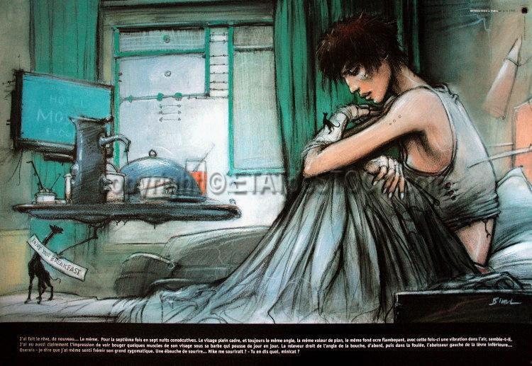 L'univers d'Enki Bilal Enki-bilal-rendez-vous-a-paris-minicat-affiche-edition-d-art-70x100cm_423326