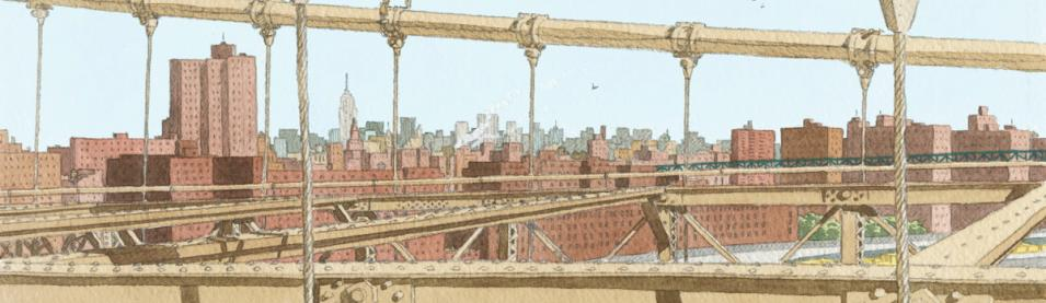 JUILLARD. BROOKLYN-BRIDGE -50x100