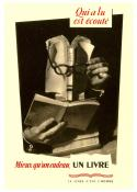 "Affiche collection Plaizier ""LIRE """