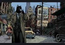 "GUARNIDO . Affiche  - BLACKSAD ""New York» 70x100"