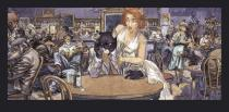 Guarnido. John's blues affiche .Blacksad