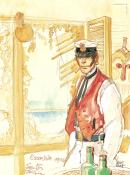 "Pratt Corto Maltese ""South Pacific"" Affiche édition d'art"